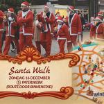 Winters Weert: Santa Walk