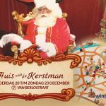 Winters Weert: Huis van de Kerstman