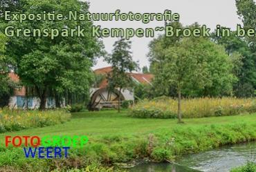 Foto expositie 'Grenspark Kempen~Broek uniek in beeld'