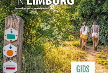 Wandelgids 'wandelen in Limburg'