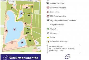 Nieuwe Hondenlosloopzone Looserplas Budel-Dorplein